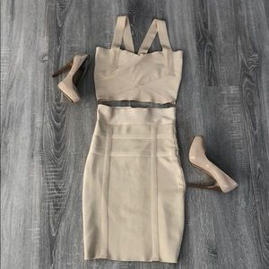 Bandage 2 piece dress - only worn once.